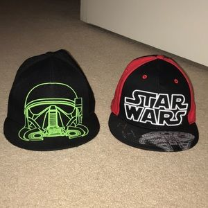 Other - Lot of 2 - kids Star Wars hats